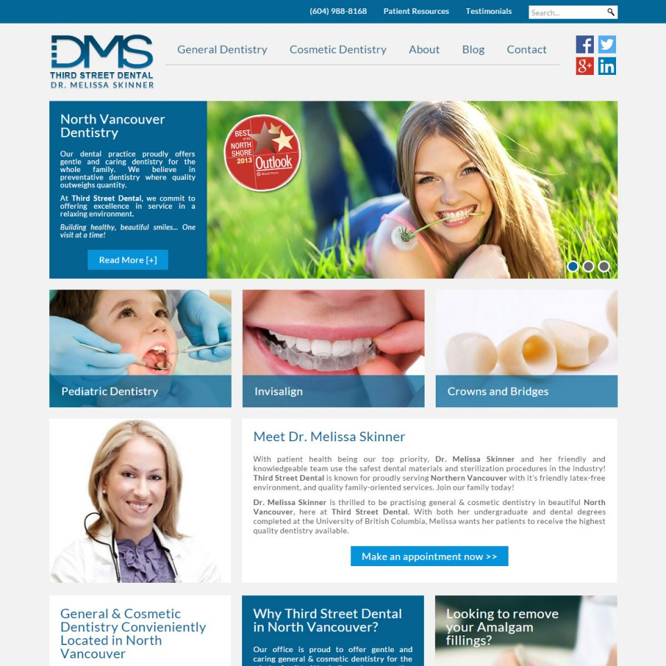 Third Street Dental - Dr Melissa Skinner - North Vancouver
