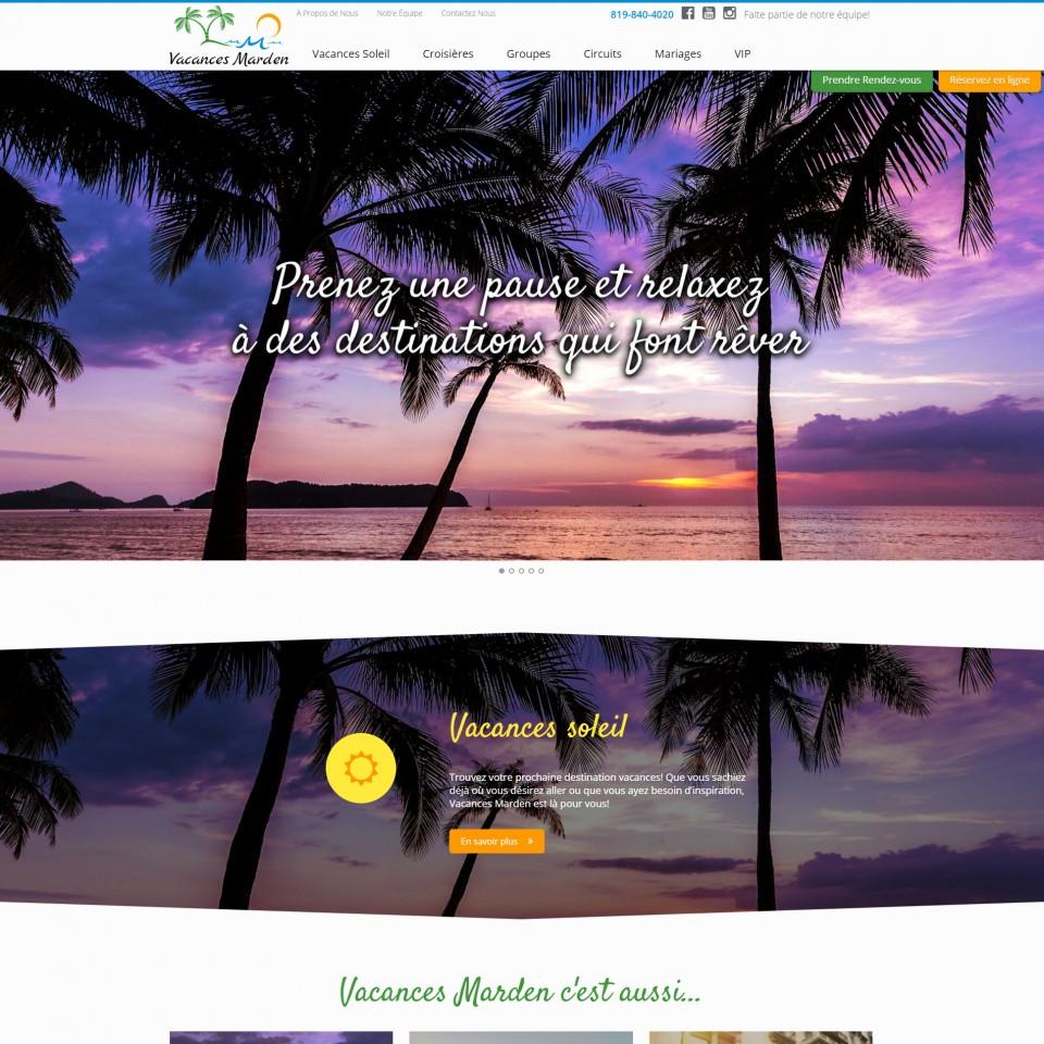 Vacance Marden ~ Agence de Voyages à Trois-Rivières